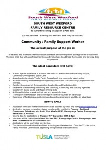 SWWFRC FS Worker job ad 2_001
